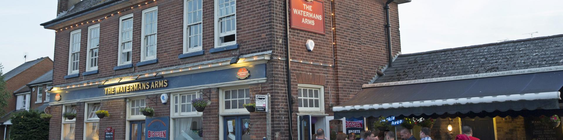 Contact the Watermans Arms Wouldham